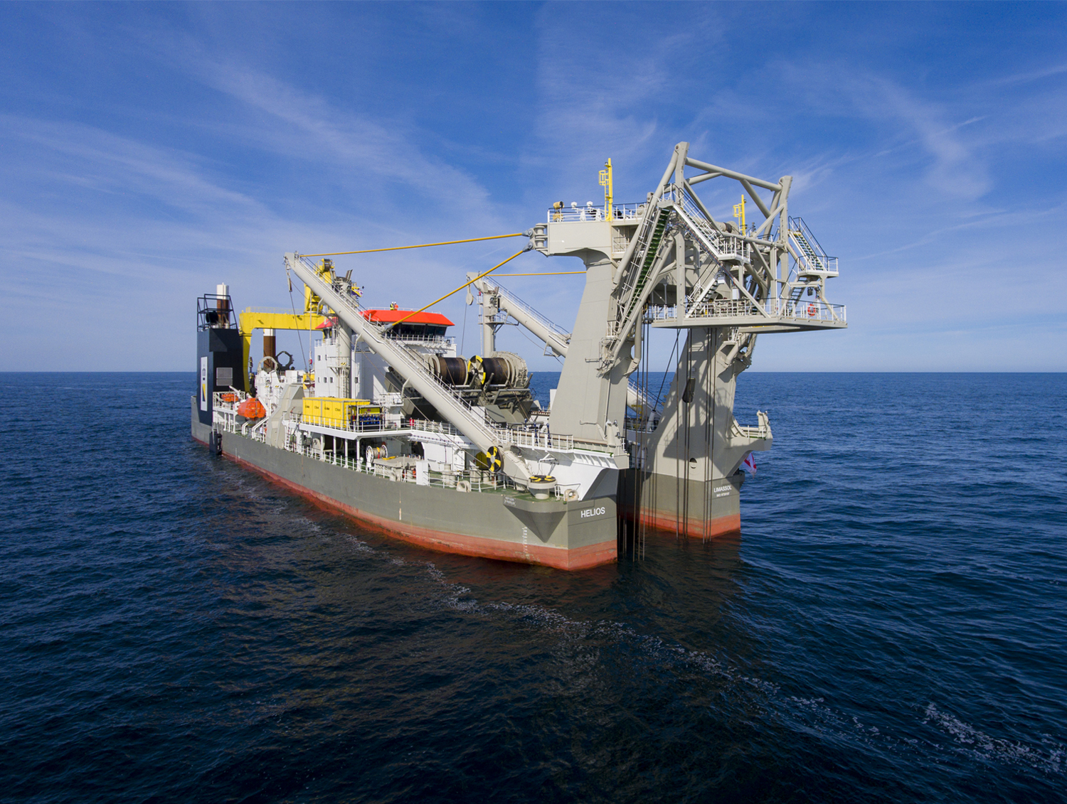 Boskalis equips its new dredger with MTG cutter-heads image