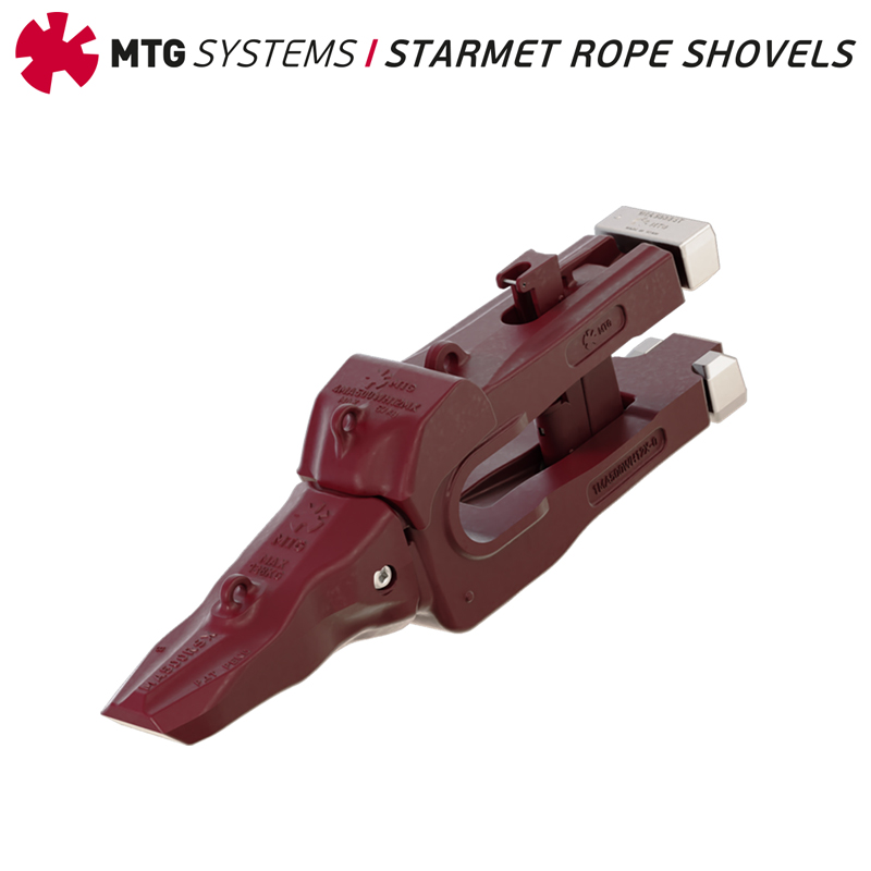 MTG SYSTEMS STARMET ROPE SHOVEL KIT